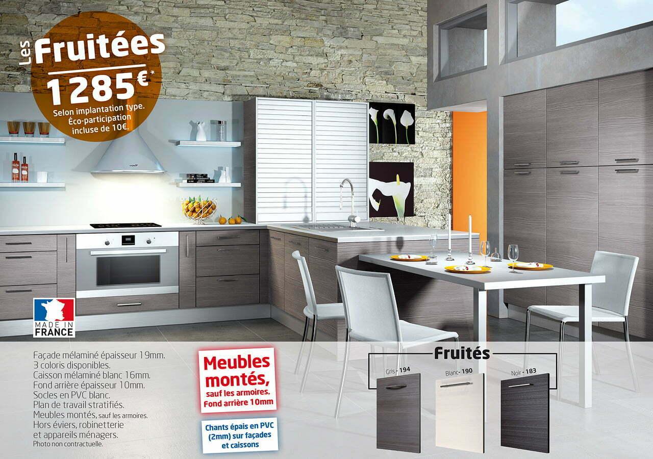Cuisines idea modele les fruitees 1280 idea cuisines for Les cuisines sur mesure