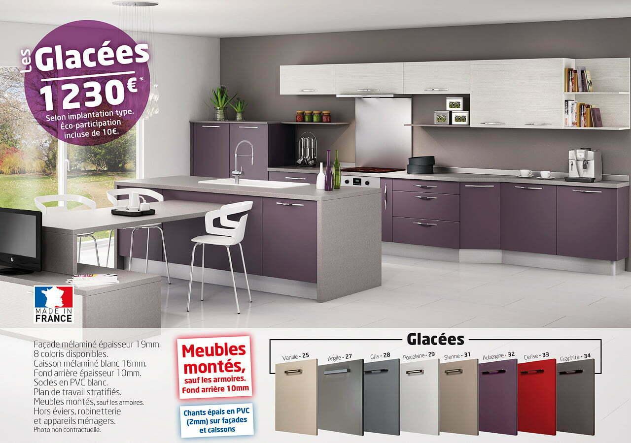 Cuisines idea modele les glacees 1280 idea cuisines for Les cuisines sur mesure