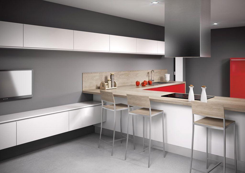 cuisine platine cerise brillant elixir perle satin idea cuisines aubi re cuisines sur. Black Bedroom Furniture Sets. Home Design Ideas