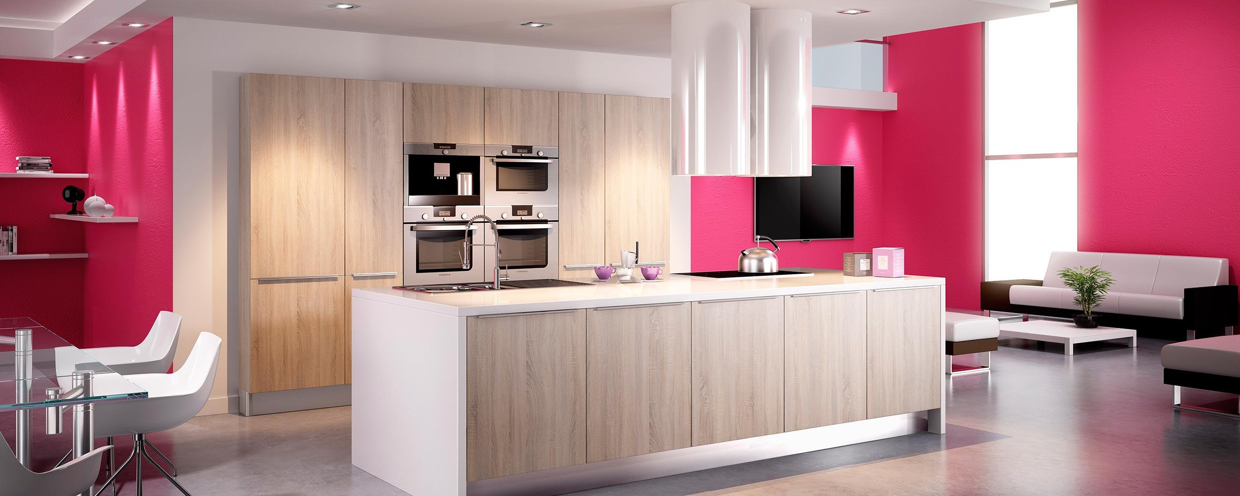 Idea cuisines modèle cottage chene flotté