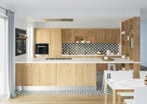 Ambiance cuisine lodge chêne du Jura