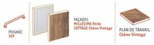 configuration millesime cottage